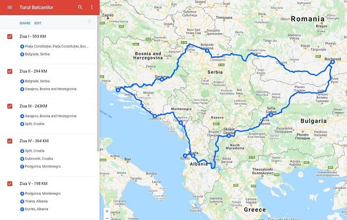 Turul Balcanilor – o călătorie pentru toate buzunarele